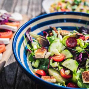 Kuvituskuva, salaatti